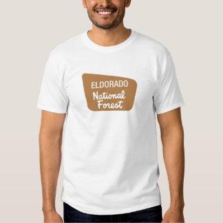 Eldorado National Forest (Sign) T Shirt