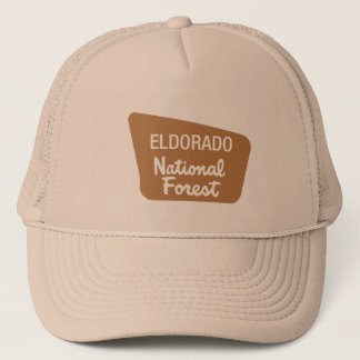 Eldorado National Forest (Sign) Trucker Hat