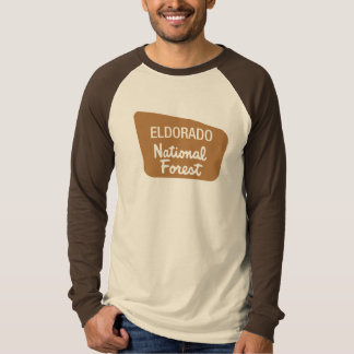 Eldorado National Forest (Sign) Tshirt