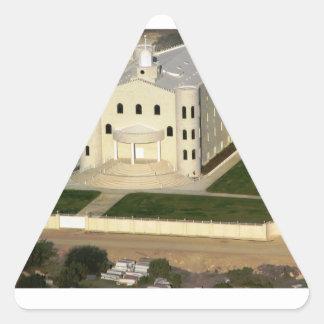 Eldorado Pegatina Triangular