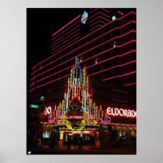 Eldorado Resort Reno Nevada Poster