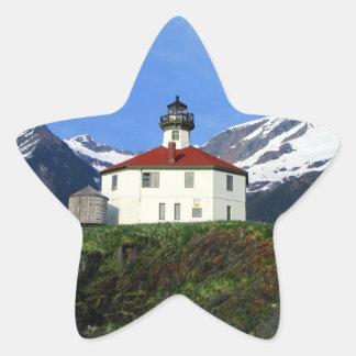 Eldred Rock Lighthouse Star Sticker