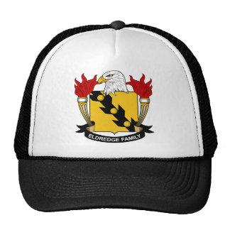 Eldredge Family Crest Mesh Hats