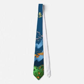 Eldrich Anemone Neck Tie