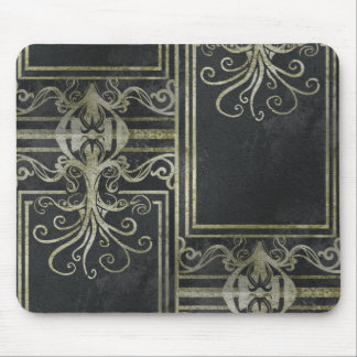 Eldrich Mouse Pad (Gold & Black) Tileing