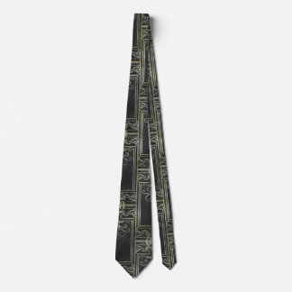 Eldrich Tie (Black and Gold) Tileing