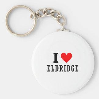 Eldridge, Alabama Llavero Redondo Tipo Pin