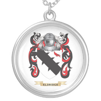 Eldridge Coat of Arms Silver Plated Necklace