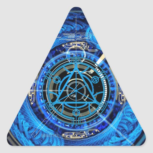 Eldritch Esoteric Triangle Stickers