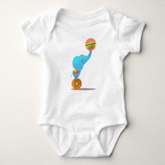 ele the circus blue elephant t-shirt