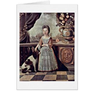 Eleanor Darnhall. Por Justus Engelhardt Kuhn Tarjeta De Felicitación