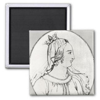 Eleanor de Aquitania Imán Cuadrado
