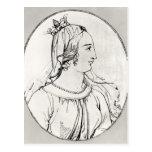 Eleanor de Aquitania Tarjeta Postal