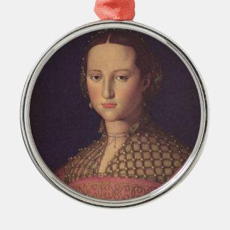 Eleanor del ornamento de Toledo Adorno Navideño Redondo De Metal