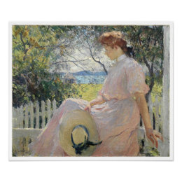 Eleanor, Frank Weston Benson Poster