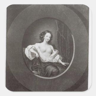 Eleanor  Gwynne Square Stickers