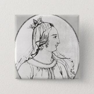Eleanor of Aquitaine Button