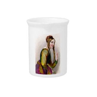 Eleanor of Aquitaine Pitcher