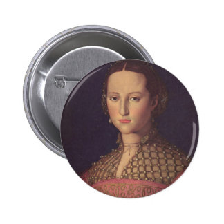 Eleanor of Toledo Button