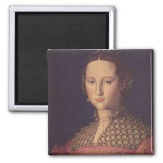 Eleanor of Toledo Square Magnet