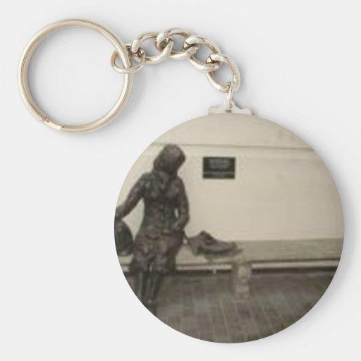 Eleanor Rigby Basic Round Button Keychain