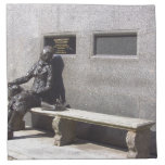 Eleanor Rigby Statue, Liverpool UK Cloth Napkin