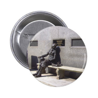 Eleanor Rigby Statue, Liverpool, UK. Pinback Button