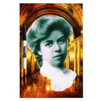 Eleanor Roosevelt Art Dry Erase Board