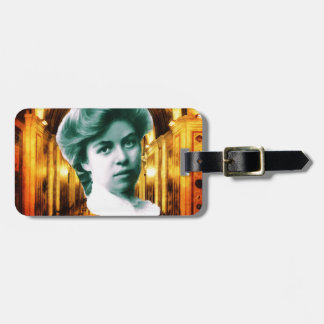 Eleanor Roosevelt Art Tag For Luggage
