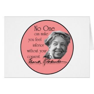 Eleanor Roosevelt - First Lady of the World Card
