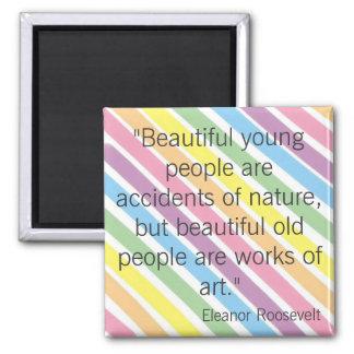 Eleanor Roosevelt Imán Cuadrado
