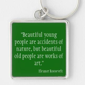 Eleanor Roosevelt Key Chain