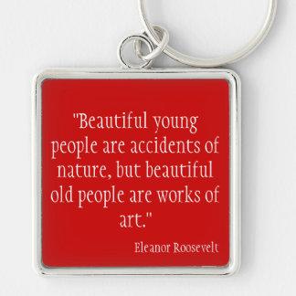 Eleanor Roosevelt Keychain