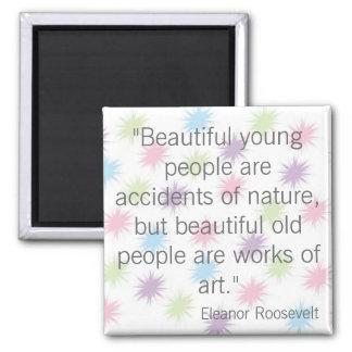 Eleanor Roosevelt Refrigerator Magnet