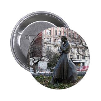 Eleanor Roosevelt Memorial Pinback Button
