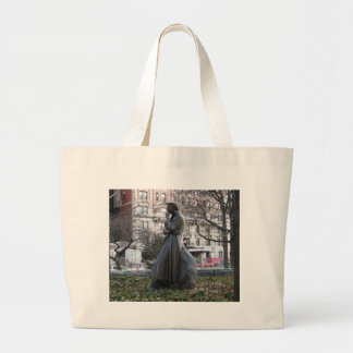 Eleanor Roosevelt Monument Large Tote Bag