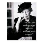 Eleanor Roosevelt - nadie puede hacer que usted si Postal