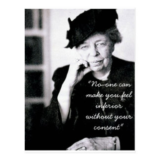 Eleanor Roosevelt - nadie puede hacer que usted si Postal