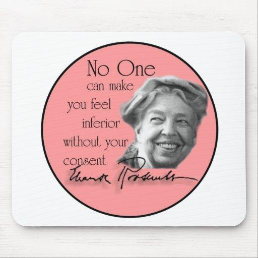 Eleanor Roosevelt - primera señora del mundo Alfombrilla De Ratones