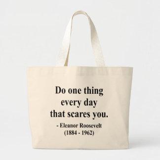 Eleanor Roosevelt Quote 2a Jumbo Tote Bag