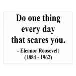 Eleanor Roosevelt Quote 2a Postcard
