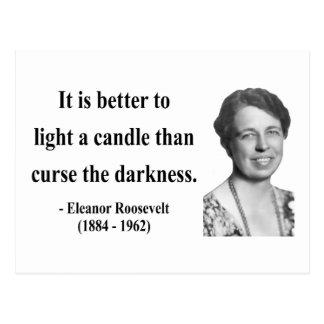 Eleanor Roosevelt Quote 3b Postcard
