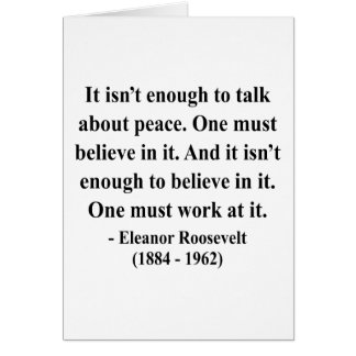 Eleanor Roosevelt Quote 4a Card