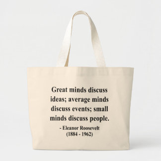 Eleanor Roosevelt Quote 5a Canvas Bags