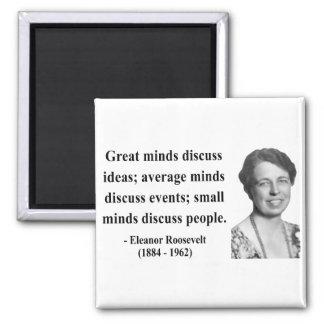 Eleanor Roosevelt Quote 5b 2 Inch Square Magnet