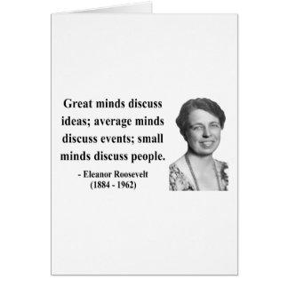 Eleanor Roosevelt Quote 5b Card