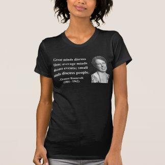 Eleanor Roosevelt Quote 5b Shirt