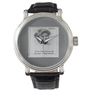 Eleanor Roosevelt & Quote Unisex Watch