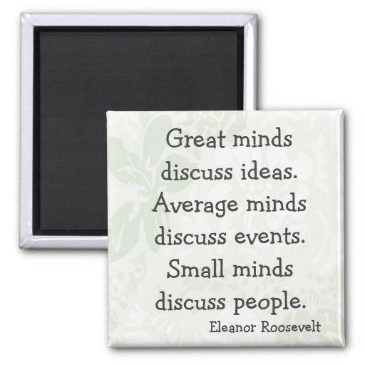 Eleanor Roosevelt Sayings Fridge Magnets