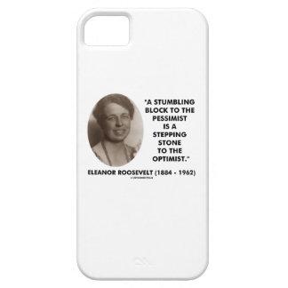 Eleanor Roosevelt Stumbling Block Stepping Stone iPhone SE/5/5s Case